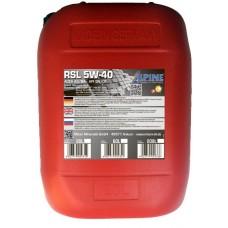 Alpine RSL 5W-40, 20л
