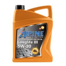 Alpine Longlife lll 5W-30, 4л