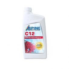 Alpine Антифриз C12 красный, 1.5л