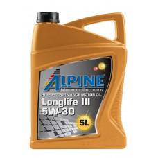 Alpine Longlife lll 5W-30, 5л