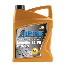 Alpine Longlife 12 FE 0W-30, 5л