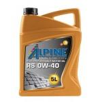 Тесты Alpine 0W-40