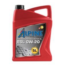 Alpine RSL 0W-20, 5л