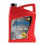 Немецкое масло в немецкий автомобиль Alpine RSL 5W-40