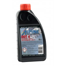 Alpine Brake Fluid DOT 4, 1л